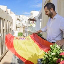 banderas balcones almería
